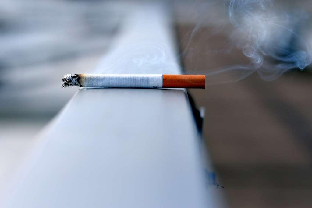 Cigarette qui se consume